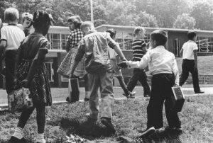 School Children Hand in Hand